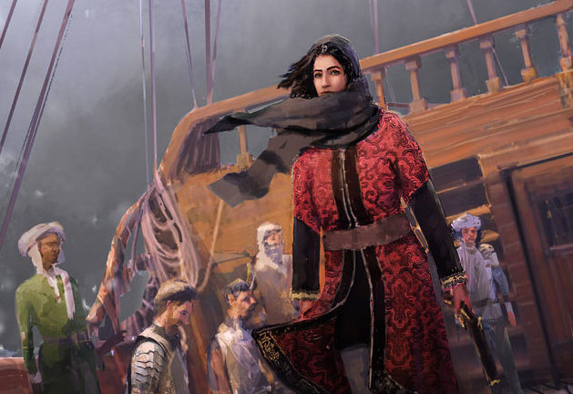 ماريا، أسيرة هولندية