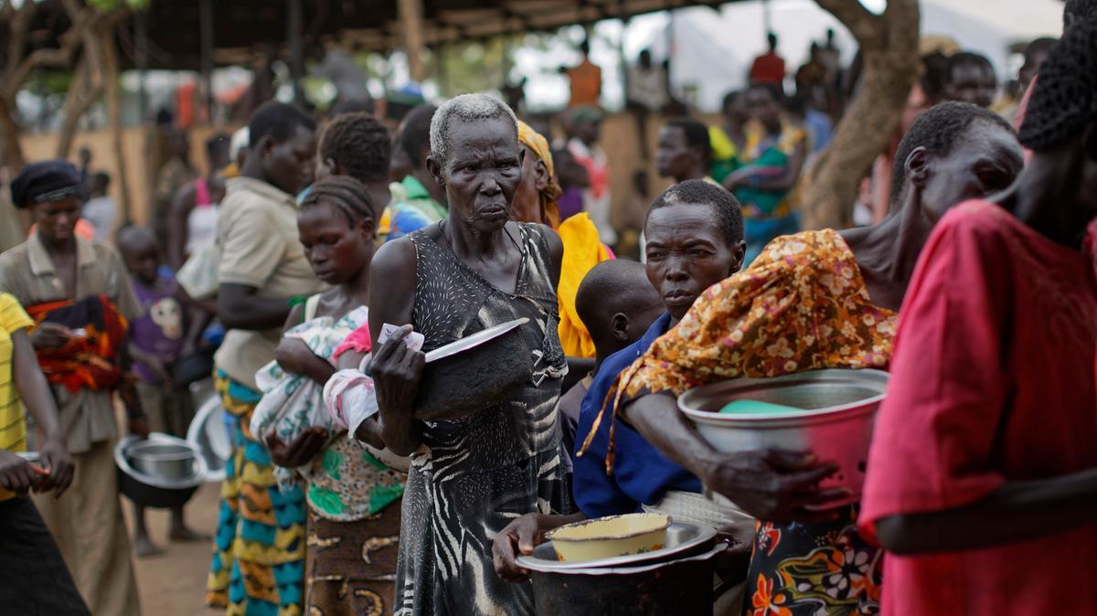 المجاعة إفريقيا
