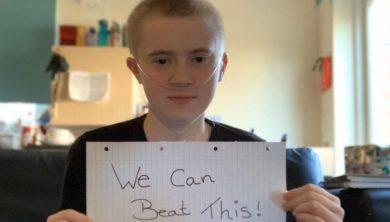 شاب بريطاني يتعافى من كورونا