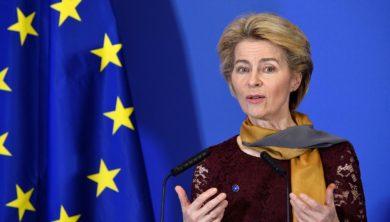 رئيسة المفوضية الأوروبية