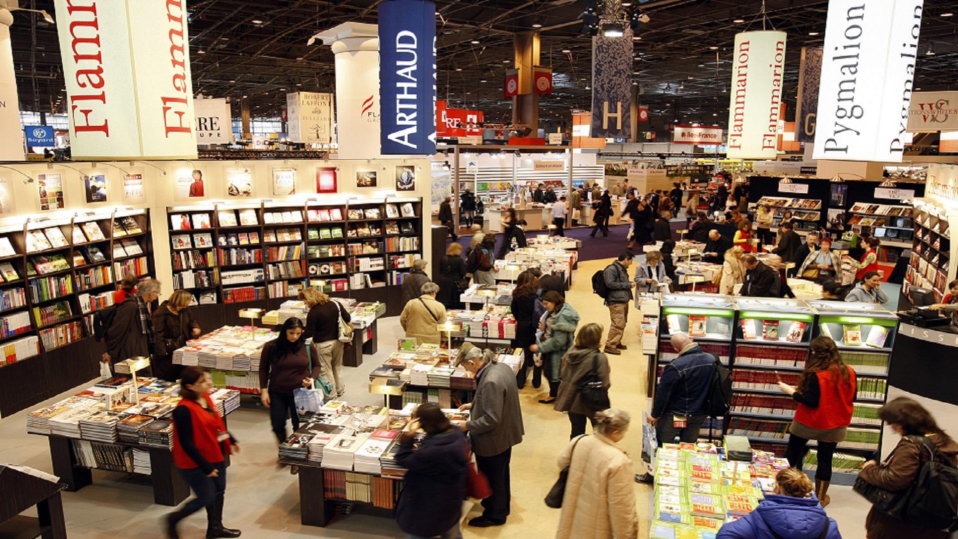 معرض باريس للكتاب