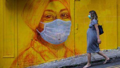 امرأة حامل - كورونا