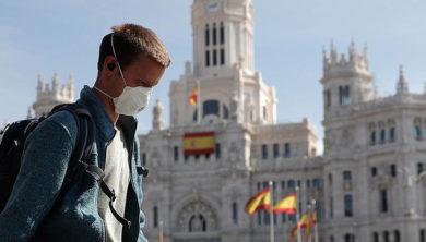 إسبانيا، كورونا فيروس