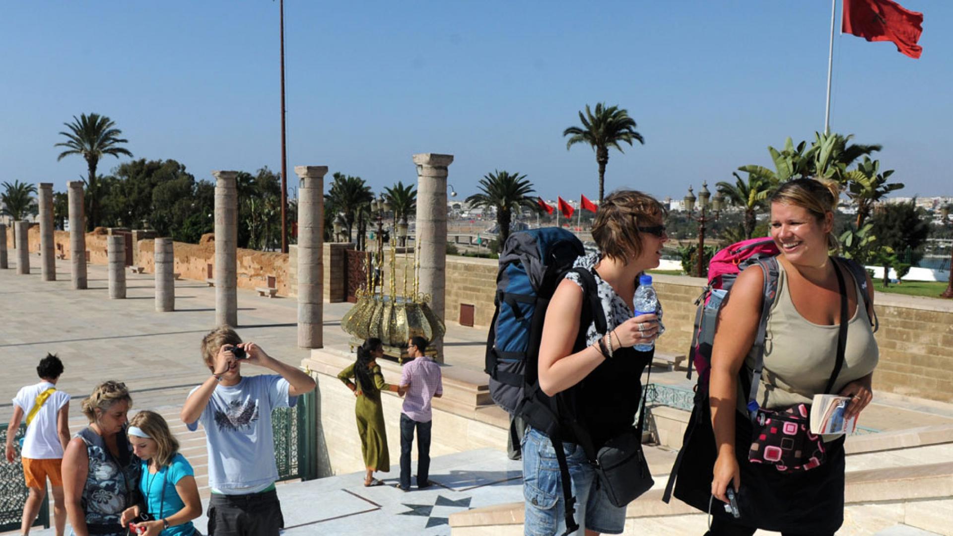 سياح المغرب