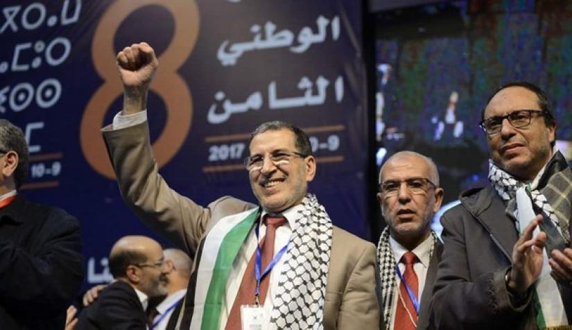 العدالة والتنمية وفلسطين