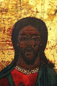 صورة السيد المسيح كما توجد في بعض الكنائس الافريقية والروسية