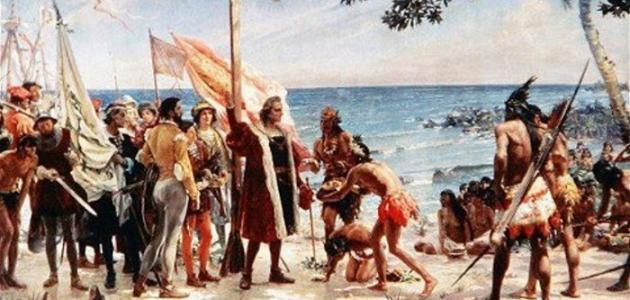 اكتشاف أمريكا découverte de l'Amérique