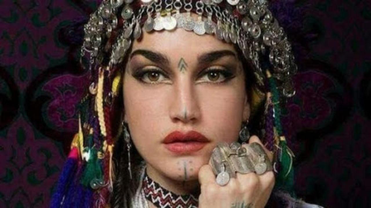 Femme amazigh أمازيغية الأمازيغية