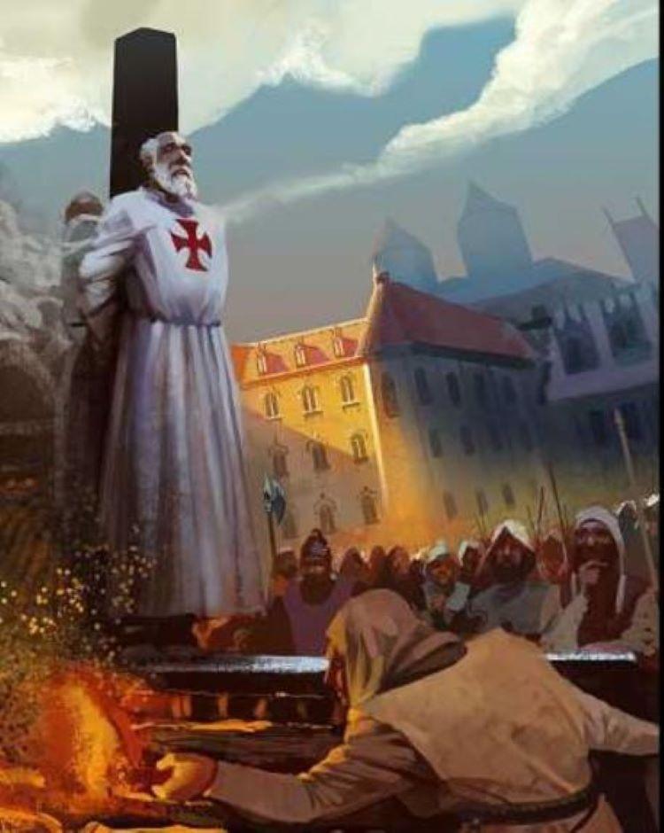 les chevaliers templiers فرسان الهيكل